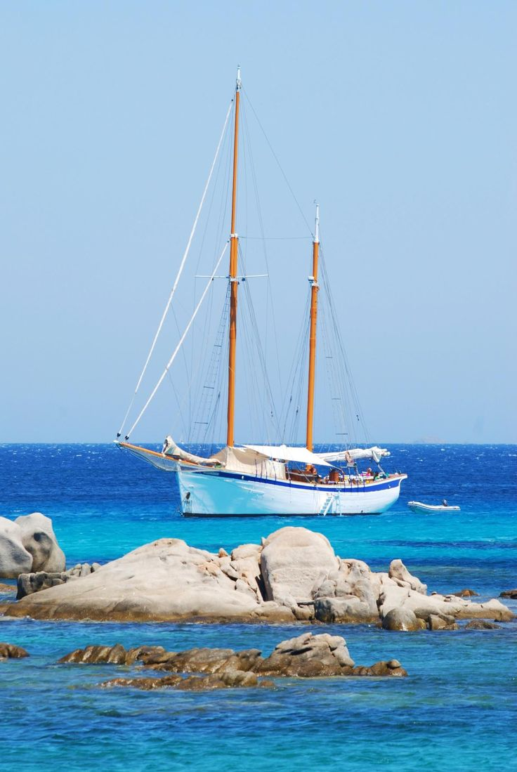 Sailing in Bonifacio, Corsica Custom-Made Luxury Tours by Blue Parallel | BlueParallel.com #boating #luxurytravel