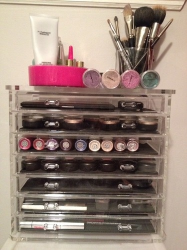 Best Acrylic Makeup Organizer Wholesale Images On Pinterest - Container store makeup organizer