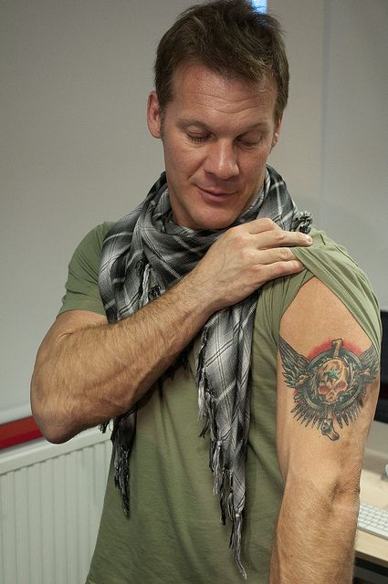 chris jericho 39 s tattoo chris jericho pinterest chris