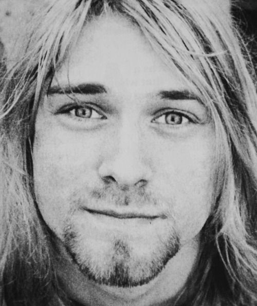 """""""Wanting to be someone else is a waste of the person you are. """"--Kurt Cobain"""