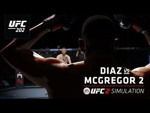 UFC (Ultimate Fighting Championship): UFC 202   EA SPORTS UFC 2 Simulation – Diaz vs McGregor