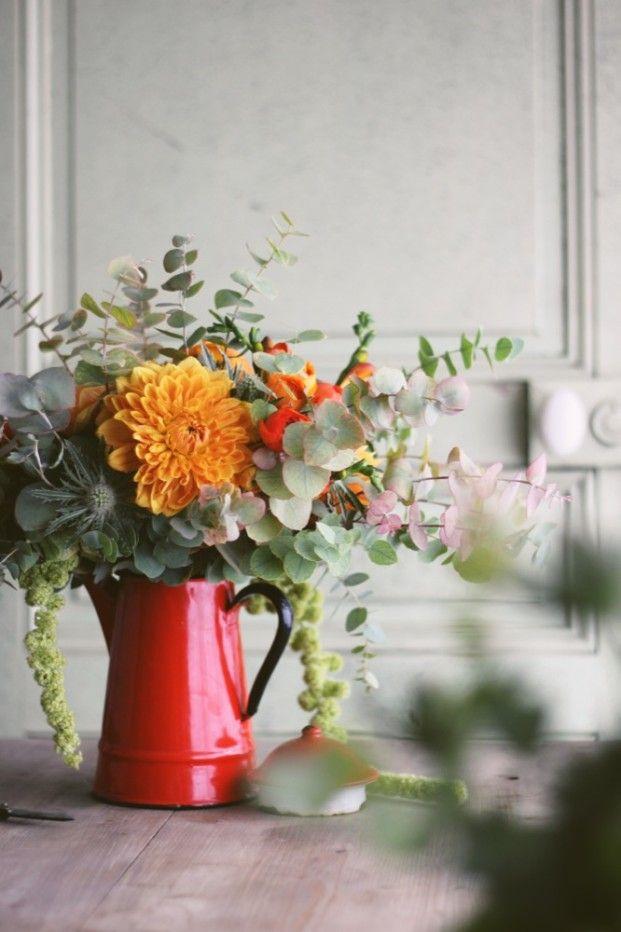 La mariee aux pieds nus - DiY - Un bouquet d automne