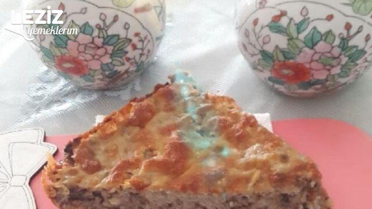 İçli Köfte Tadında Kaşarlı Kek