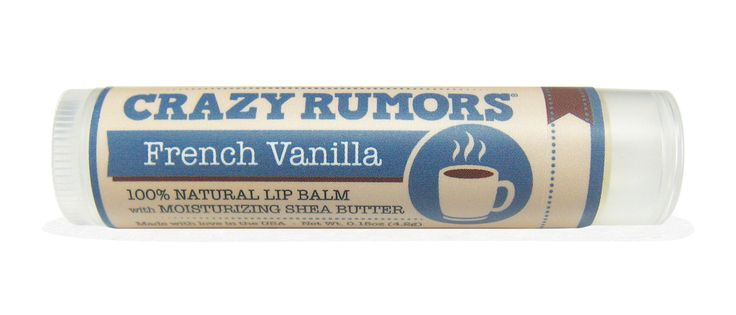 Lip Balm Land - Crazy Rumors - French Vanilla, $5.50 (http://www.lipbalm.land/lip-balms-a-k/crazy-rumors/crazy-rumors-french-vanilla/)