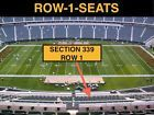 #Ticket  4 Front row Indianapolis Colts at Cincinnati Bengals tickets section 339 row 1 #deals_us