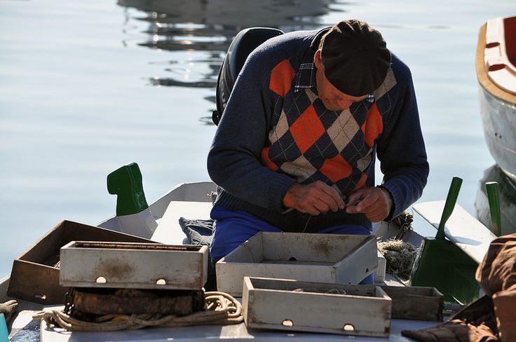 Pescatori a Rovigno