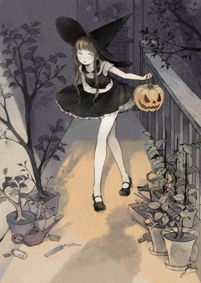 halloweenpictures:  Art by Nekosuke
