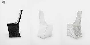 Chaise en béton de l'Atelier b.