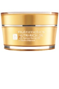 Nutrimetics Nutri-Rich Oil   Ingredients - Apricot Kernel Oil / Vitamin E / Carrot Oil