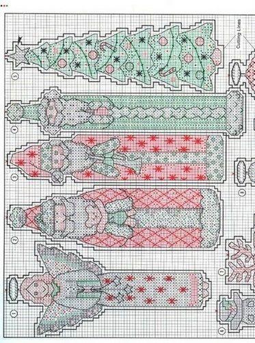 CHRISTMAS PENCIL ORNAMENTS 03