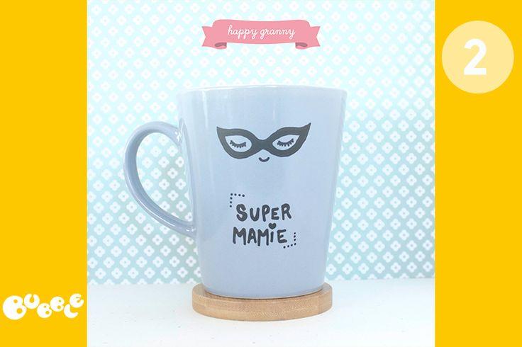 Pour la fête des grand-mères - Le DIY Super Mamie