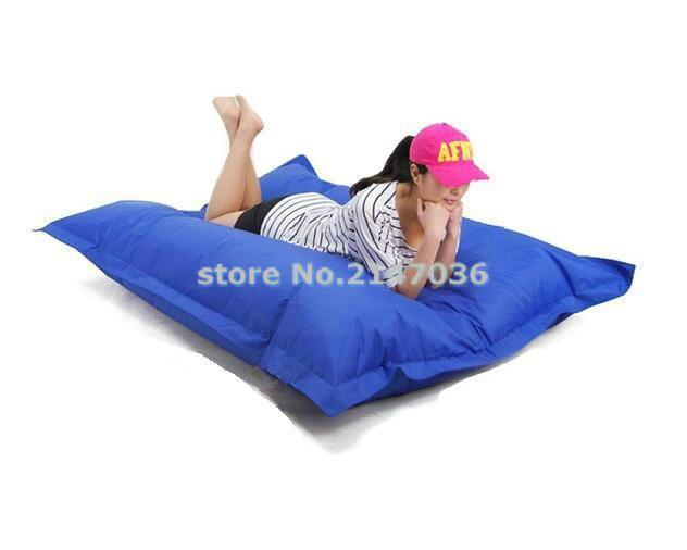 high quality EXTRA LARGE bean bag lounge chair, Giant beanbag sofa cushion