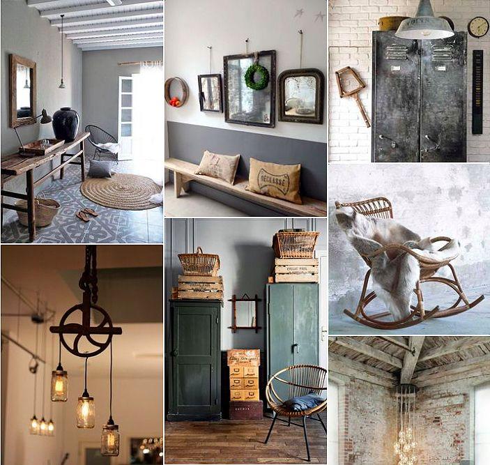 Deco Le Style Industriel Chic Pour Une Entrée Cosy Decor