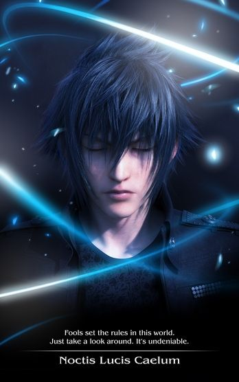 Final Fantasy XV Game Noctis Lucis Caelum Character Realistic