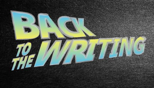 Back to the #Writing. Image: Veronica Louis