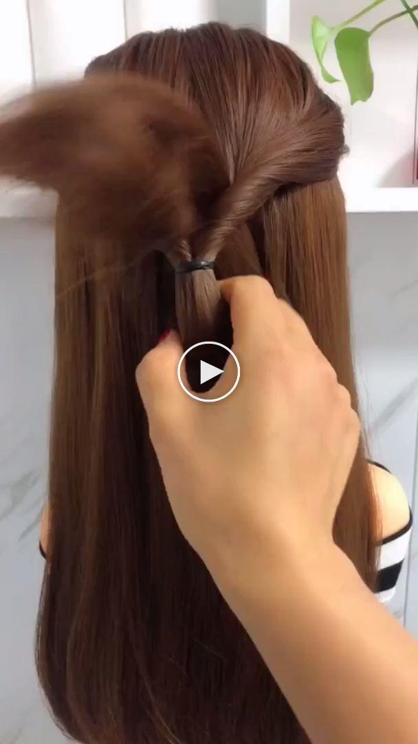 coiffures pour cheveux longs vidéos Tutoriels Coiffures Compilation 2019 Partie… – Idees de Maquillage