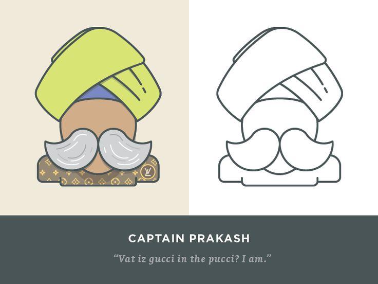 Captain Prakash by Didi Medina