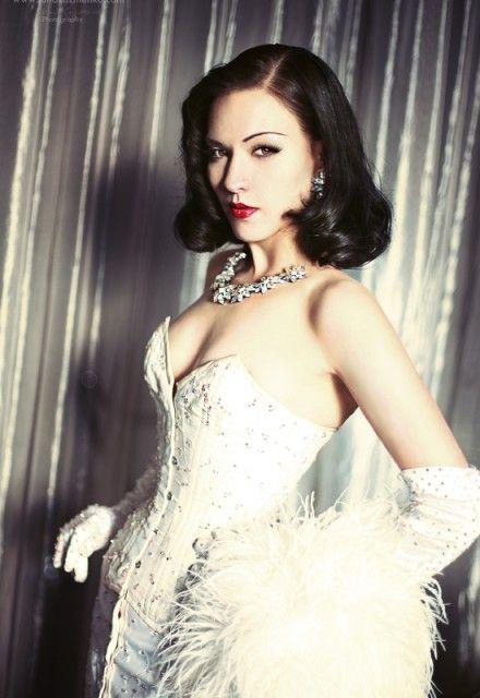#Burlesque Miss Orchid Mei | Burlesque | Pinterest ...
