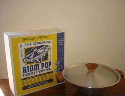 Welcome to Atom Pop - The original no shake, no stir corn popper!