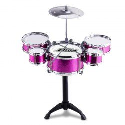 Mini Kids Drum Set For Musical Instruments Learning Educational Toy - TUTTI FRUTTI Mobile