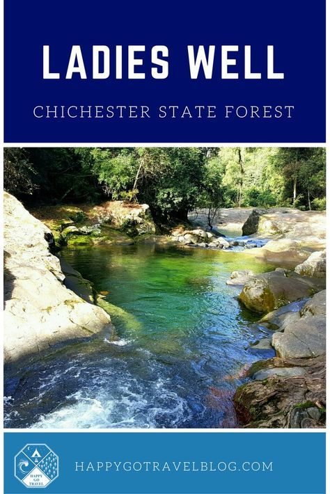 THINGS TO DO in the Hunter Valley!! A hidden gem - waterfalls, swimming holes and camping. Ladies Well, Chichester State Forest | Barrington Tops, Australia.