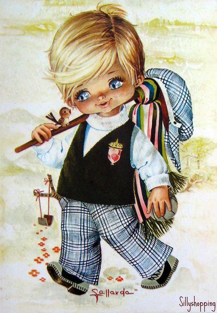 276 best sillyshopping big eyed images on pinterest - Ilustraciones infantiles antiguas ...