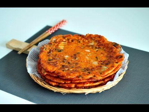 비오는 날엔 참치김치전 만들기/김치전 만드는법(Kimchi pancake,꼬마츄츄)