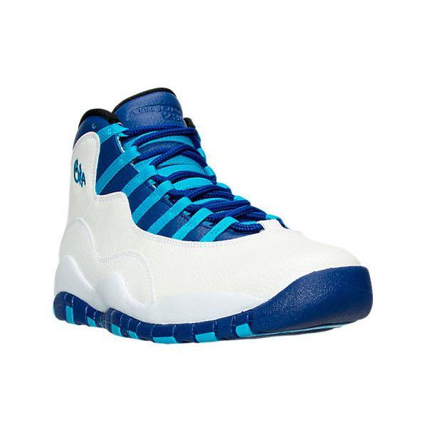 1a520930706097 ... get nike mens air jordan retro 10 cha basketball shoes 190 liked on  polyvore 7072d e6535