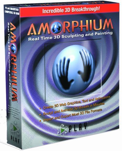 Amorphium Real Time 3-D Sculpting and Painting Global Streams