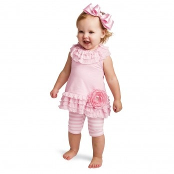 Got this outfit for my 3 1/2 year old daughter~ Love it, sooo cute and pretty!! #Hannah