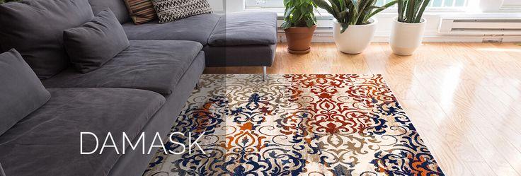 damask rug