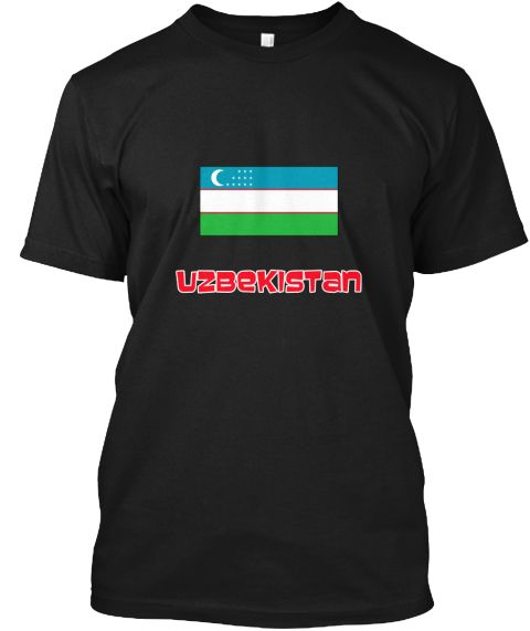 Uzbekistan Flag Retro Red Design Black T-Shirt Front - This is the perfect gift for someone who loves Uzbekistan. Thank you for visiting my page (Related terms: I Heart Uzbekistan,Uzbekistan,Uzbekistani,Uzbekistan Travel,I Love My Country,Uzbekistan Flag, Uzbek #Uzbekistan, #Uzbekistanshirts...)