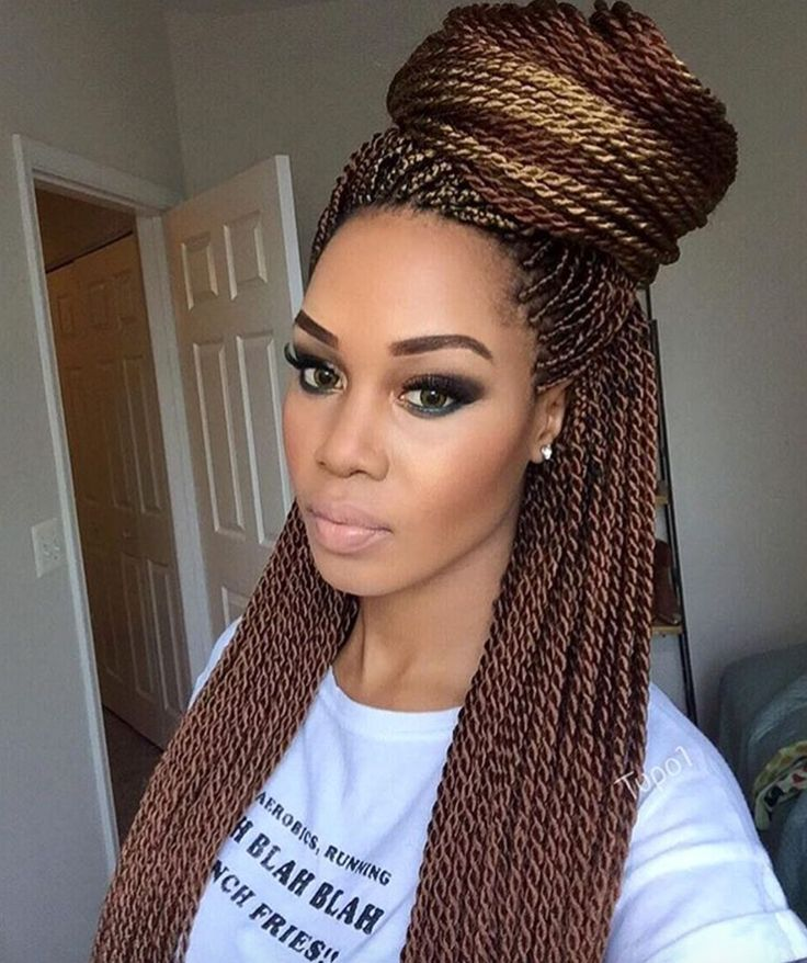 Beautiful Twists Hairstyles 9