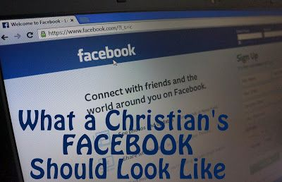 Kentucky Sketches: What a Christian's Facebook Should Look Like