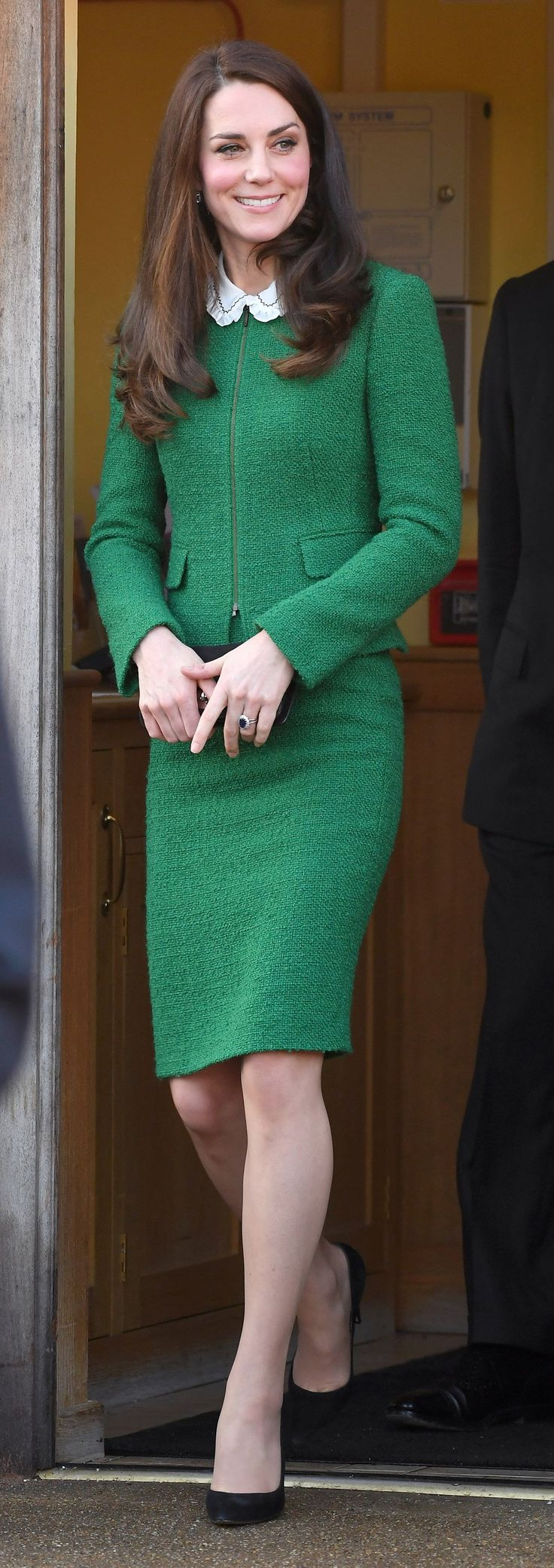 Kate Middleton Gives the Classic Skirtsuit a Royal Touch