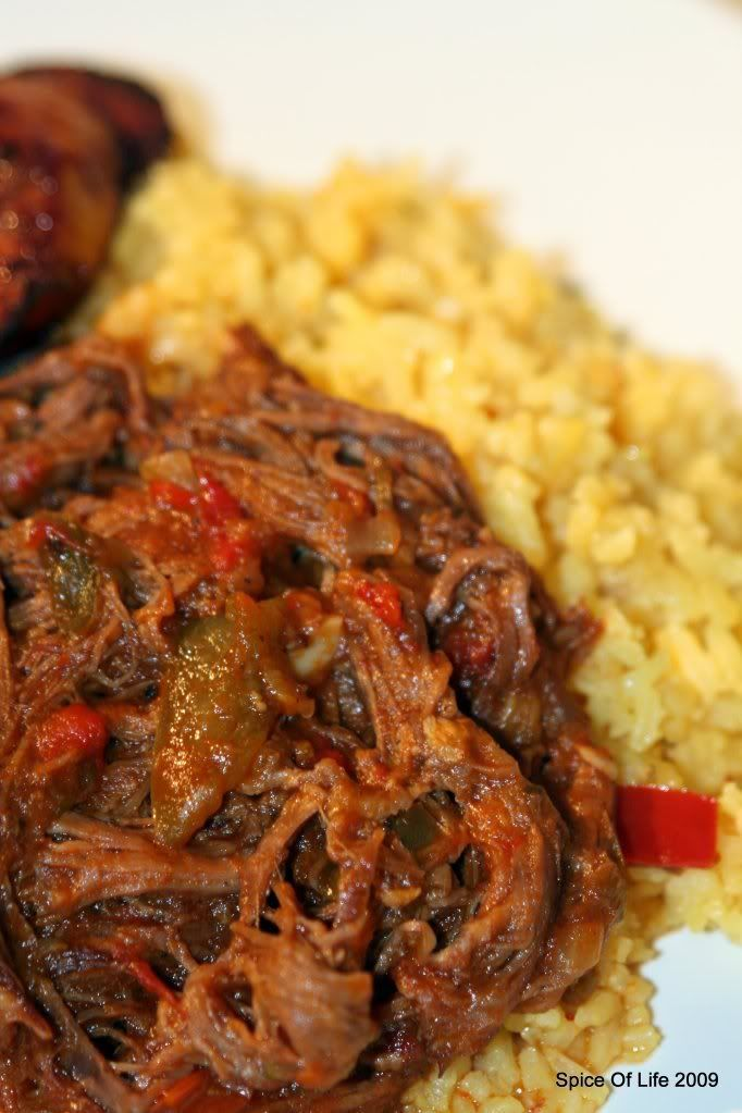 Ropa Vieja Recipe. Minus the olives lol