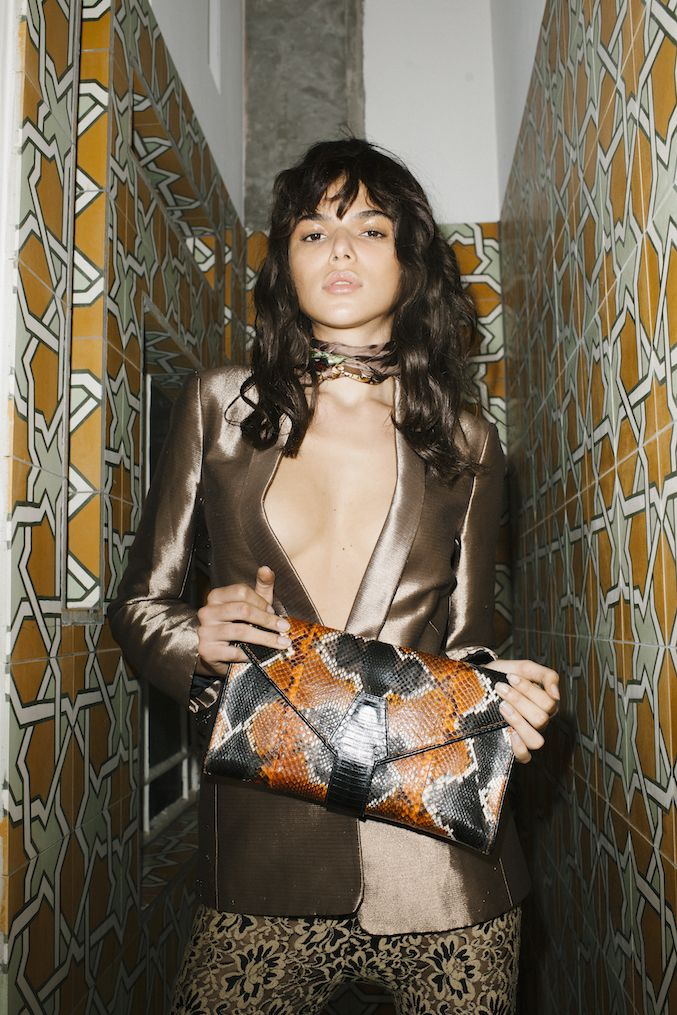 The perfect clutch, roomy but stylist and chic: www.hel-mer.com