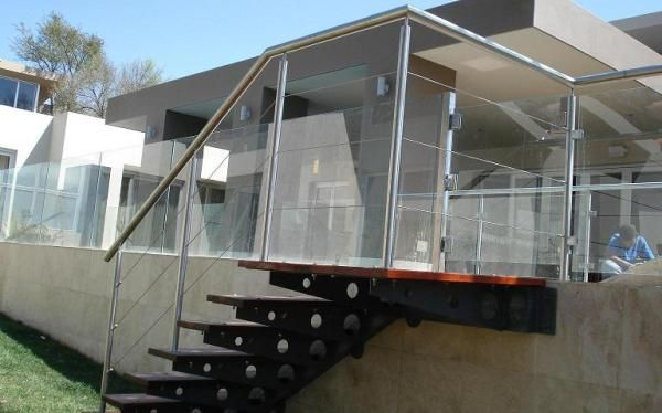 Contemporary pool enclosure for this #Gauteng home