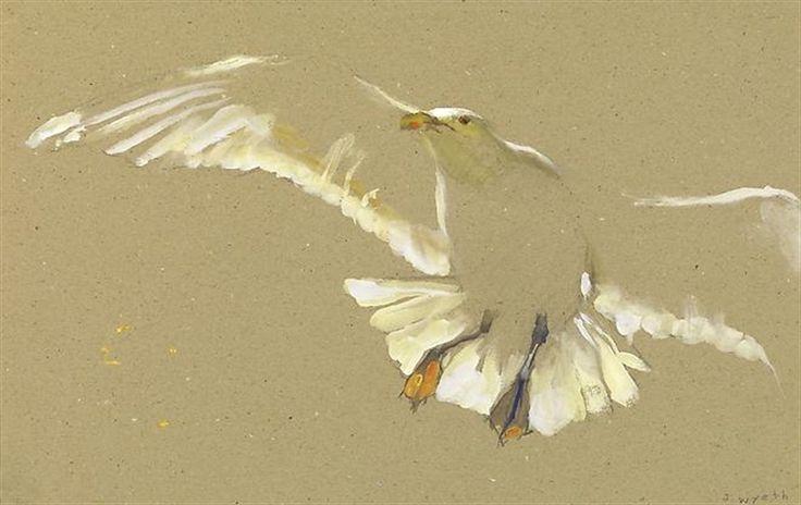 Gull Ascending by Jamie Wyeth on artnet Auctions