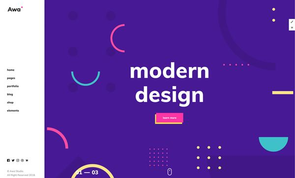 Web Design Trends 2018 36 New Examples Web Design Trends Web Design Simple Web Design