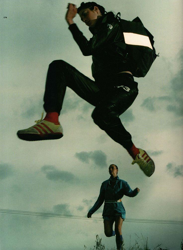 adidas editorial - tank magazine 2003.