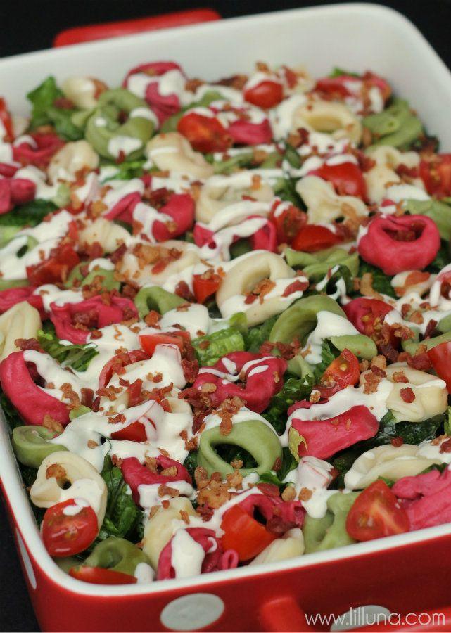 Tortellini Salad | Recipe | Tortellini Salad, Tortellini and Salad