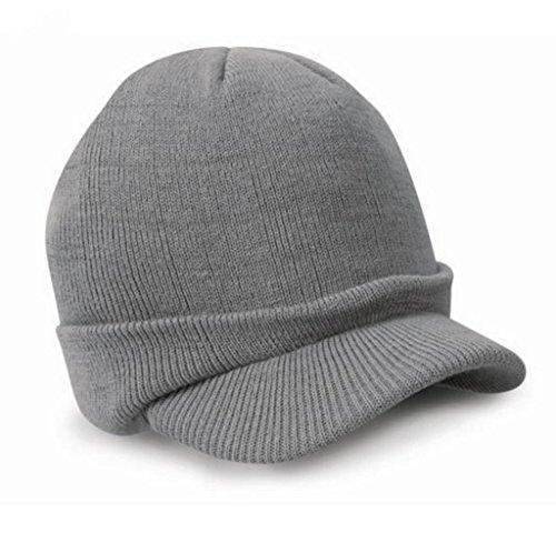 Oferta: 2.99€. Comprar Ofertas de Tongshi Beanie Esco Enarboladas Ejército de sombrero de invierno cálida de lana para hombre del casquillo de esquí de las señ barato. ¡Mira las ofertas!