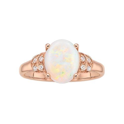 Fred Meyer Jewelers   Australian Opal Ring