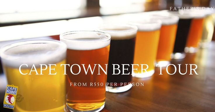 Cape Town Beer Tour: Beer is the oldest alcoholic beverage in the world and Cape Town has a very old beer history. Take your dad on a half day beer tour around Cape Town learning about brewing origins and the history of beer in the Cape.  You will also enjoy beer tastings from the oldest brewery in Cape Town and some craft beer.  Can your dad tell the difference between ale and lager?
