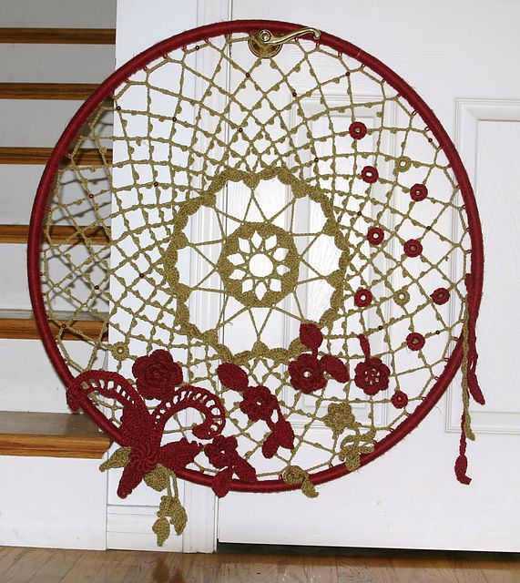 Ravelry: Dream Big Dreamcatcher crochet pattern by Amy Seeberger