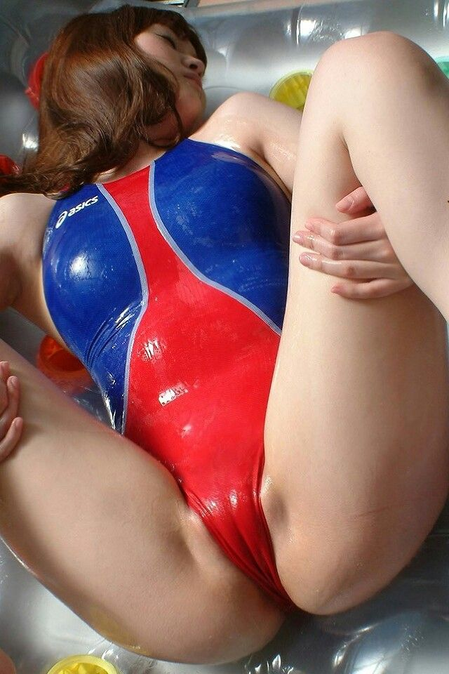 swimsuit bulge pussy asian