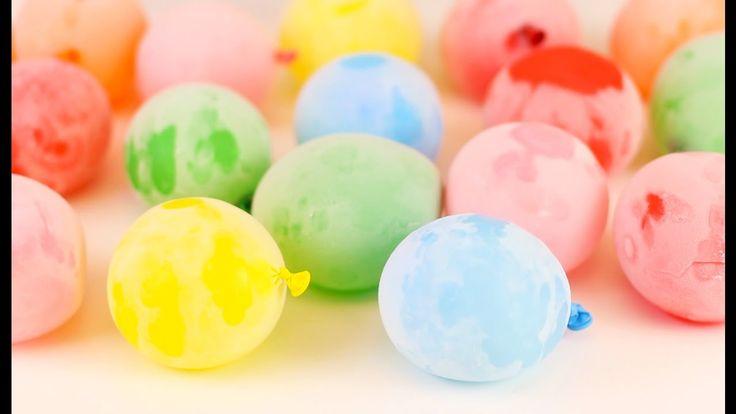 Cele mai bune trucuri și experimente. 7 Trucuri cu baloane simple   #baloane #trucuri