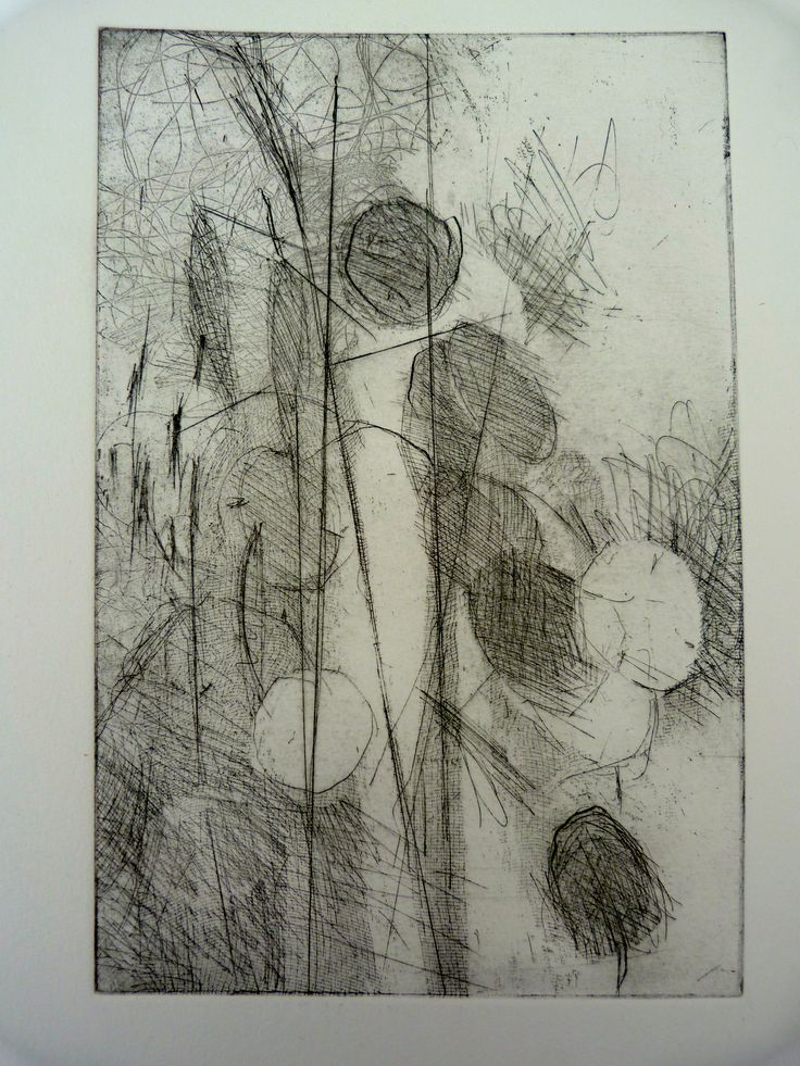 Etching - Honesty - Helen Kennedy
