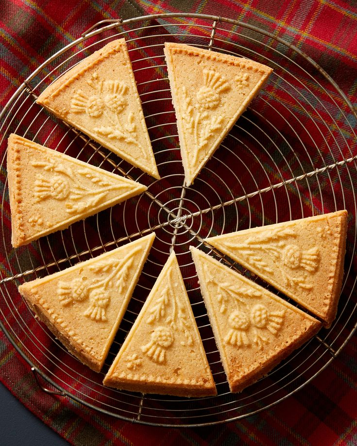 Martha's Scottish Shortbread | Martha Stewart - A touch of rice flour is the secret to perfectly crisp shortbread. With such a short ingredient list, it's important to use the best-quality salted butter you can find.  #fiveingredientcookies #teacookies #cookierecipe